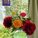 JULIE et Les Fleurs ©EditionsCoryphene