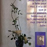 JULIE rose blanche Citation ©EditionsCoryphene