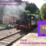 Train en Gare d'Olliergues ©EditionsCoryphene