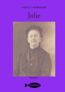 Julie le nouveau roman de colette Hoornaert
